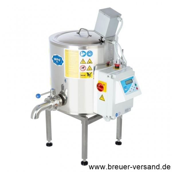 Mehrzweckkessel, Pasteurisator, Käsekessel, Käsebereiter, Joghurtkessel FJ 50 PF, 400 Volt