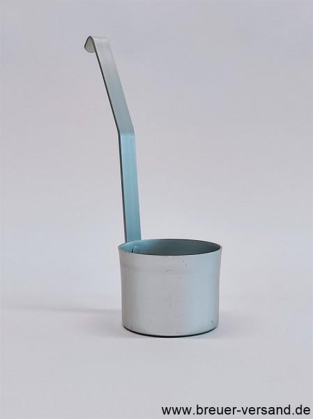Milchmass, Schöpfkelle, Schöpflöffel aus Aluminium, 0,5 Liter