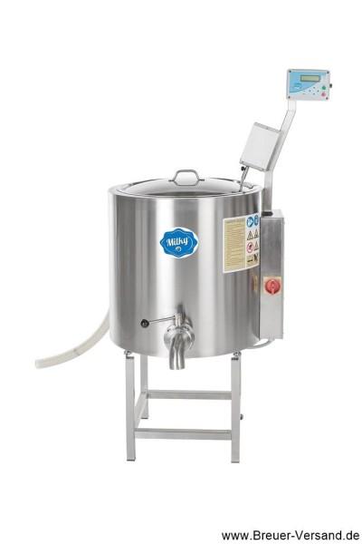 Pasteurisator, Käsekessel, Joghurtbereiter, Mehrzweckkessel FJ 100 PF, 400 Volt