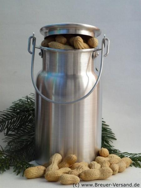 1 Liter Aluminium Milchkanne zur Aufbewahrung von Erdnüssen und ähnliches