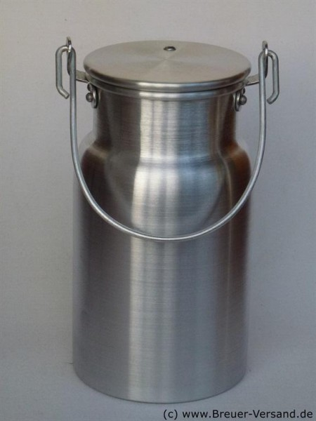 Aluminium Milchkanne 2 Liter