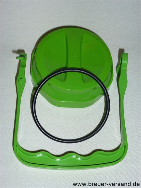 Ersatzteile Set für 2 Liter Kunststoff Milchkannen auslaufgeschützt oval und rund