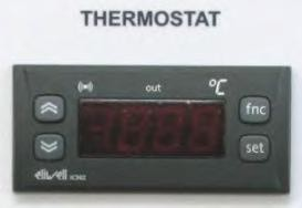 Elektrothermostat für Käsekessel 50 Liter