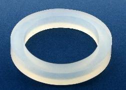 Schlauchhalter Silikon-Ring weiß zum Verbinden von Schläuchen