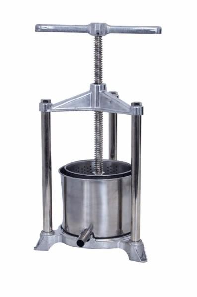 Käsepresse handbetrieben, Presskorb Volumen 1,3 Liter