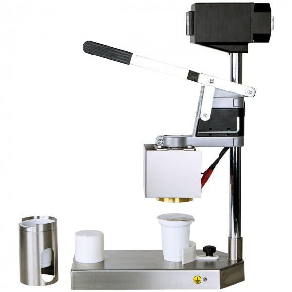 Handbetriebene Becherverschlussmaschine BP 02