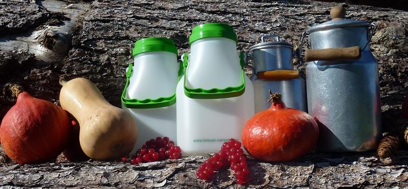 Kleine Milchkannen aus unterschiedlichen Materialien direkt online bestellen
