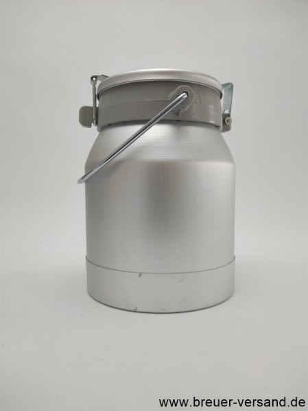 10 Liter Aluminium Milchkanne auslaufsicher