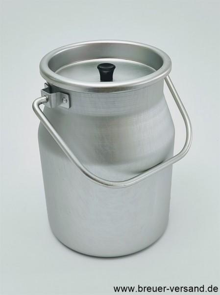 5 Liter Aluminium Kanne mit Deckel aus Aluminium