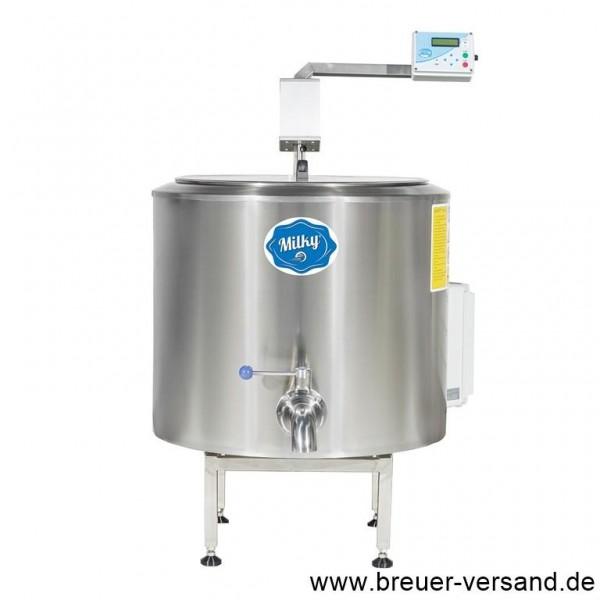 Pasteurisator, Käsekessel, Joghurtbereiter, Mehrzweckkessel FJ 100 PF, 400 Volt, Ansicht von vorne