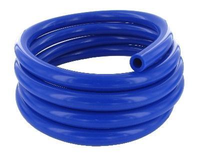 Silikon Milchschlauch 14,0x24,0 mm, enzianblau,  Rolle 25 Meter, beste Qualität, Deutsche Herstellung