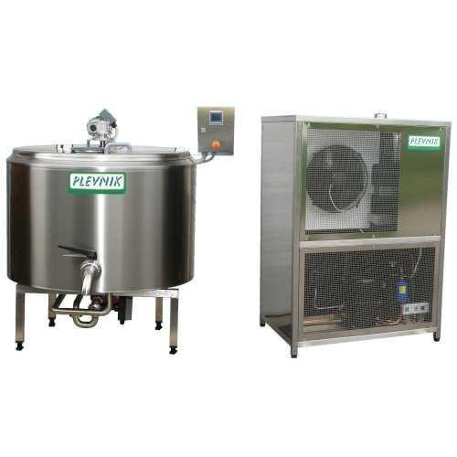 Pasteurisator 200 Liter inklusive Kühlung und Heizung