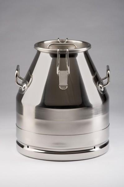 Edelstahl Milchkanne 20 Liter