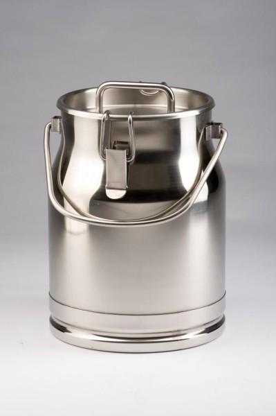 Edelstahl Milchkanne 10 Liter