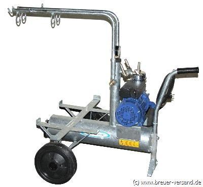 Kleinmelkmaschine Grundmodell für 2 Eimer