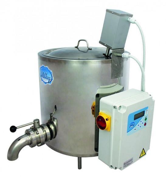 Pasteurisator, Käsekessel, Joghurtkessel, Mehrzweckkessel FJ 50 PB (Fassungsvermögen 50 Liter)