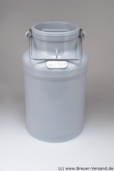 Kunststoff Milchkanne 20 Liter inklusive Deckel