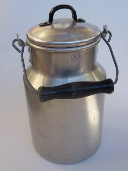 Alte gebrauchte Milchkanne, gebraucht,2,0 Liter