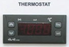 Elektrothermostat für Käsekessel 100 Liter