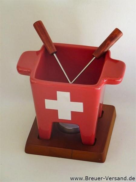 Käse Fondueset im schweizer Design