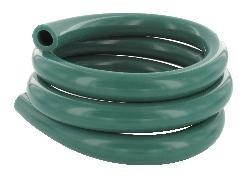 Silikon Milchschlauch 16,0x27,0 mm, grün,  Rolle 25 Meter, beste Qualität, Deutsche Herstellung