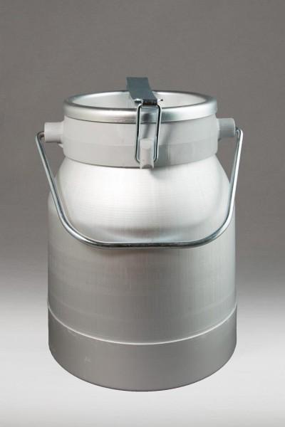 Aluminium Milchkanne 10 Liter, auslaufsicher