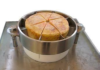 Schneidemesser für 6 Stück. Passt zum Käseteiler / Käseschneider KT.300