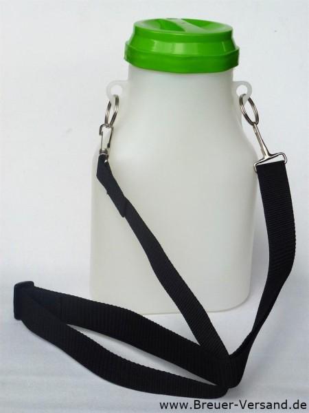 2 Liter Kunststoff Milchkanne mit Tragegurt