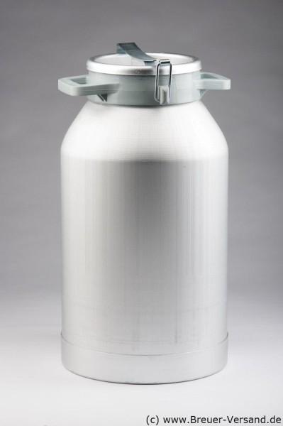 50 Liter Aluminium Milchkanne, auslaufsicher