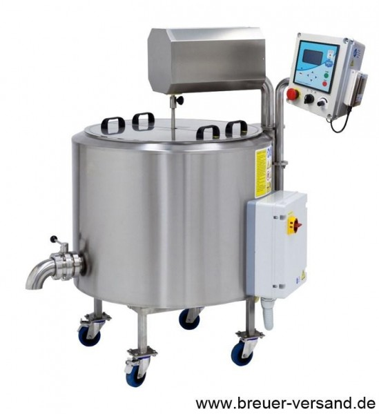 200 Liter Käsekessel / Mehrzweckkessel FJ 200, geschlossenes System