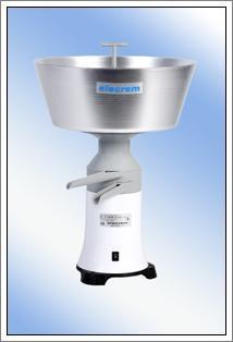 Milchzentrifuge Elecrem 1, Ausläufe Metall, 230 Volt