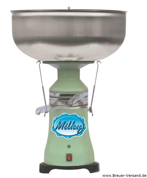 Milky Milchzentrifuge FJ130 EPR mit Kunststoff Ausläufen