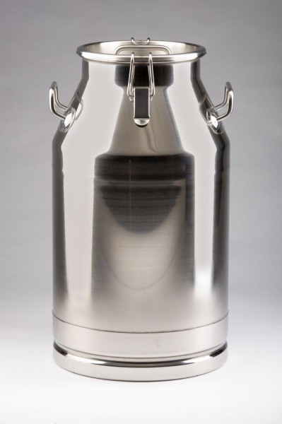 Edelstahl Milchkanne 40 Liter