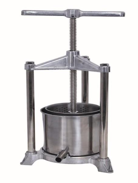 Käsepresse handbetrieben, Presskorb Volumen 5,3 Liter