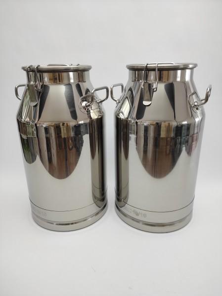 Auch in der 40 Liter Version kann die auslaufsichere Milchkanne günstiger bezogen werden. Hier gleich informieren.